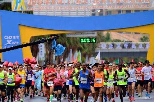 2017厦门海沧半程马拉松